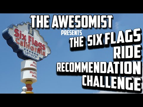 Six Flags Magic Mountain Ride Recommendation Challenge