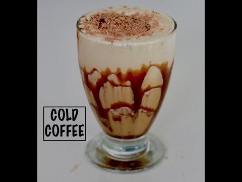 COLD COFFEE | EASY COLD COFFEE RECIPE | COFFEE MILKSHAKE | 2 MINUTES RECIPE