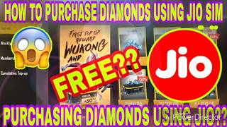 Free Fire : How To Purchase Diamonds Using Sim Card's