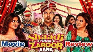Shaadi Mein Zaroor Aana | Movie Review | RajKummar Rao | Kriti Kharbanda | Talented India