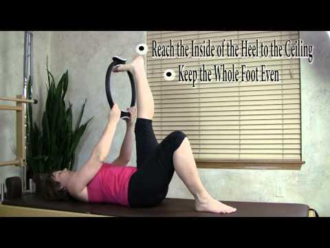 Foot, Ankle, & Calf Stretch: Pilates Magic Circle Stretch
