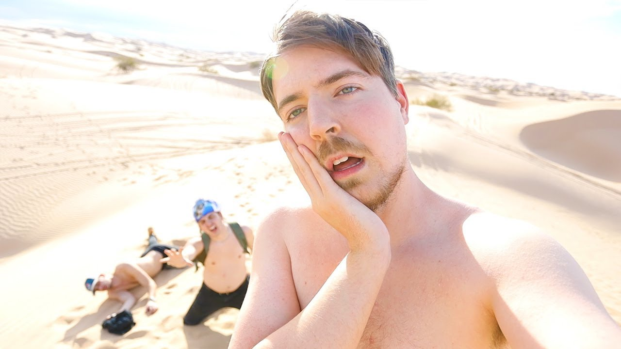 Surviving 24 Hours Straight In A Desert