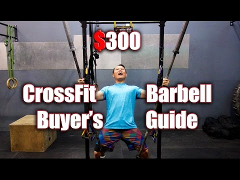 $300 CrossFit Barbell Buyer's Guide
