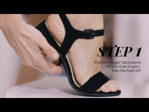 How to change your high heels | 4 Steps (English)