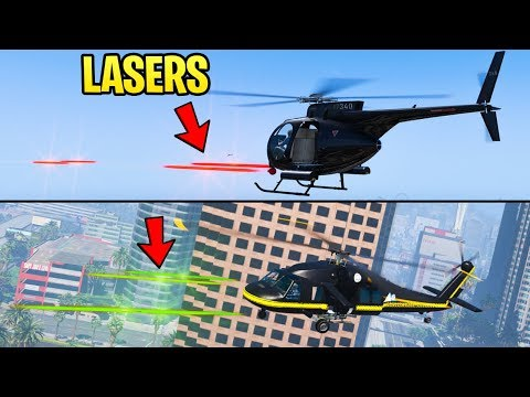 GTA Online: SECRET Laser Weapons Found in Game Code - What Could They Be For?
