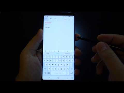 Galaxy Note 8: How to stop AutoCorrect and Predictive inserted text