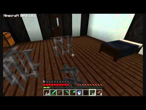How to make glass panes, iron bars and a fence gate in minecraft 1.8