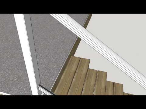 ProBuilt Stair Rail Installation