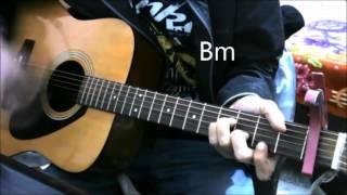 CLOSER | KABIRA - English / Hindi Mashup - CHAINSMOKERS (Vidya Vox) - Guitar Cover Lesson Chords