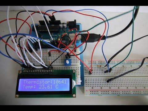 Arduino Tutorial #12 (Thermistor Temp Sensor)