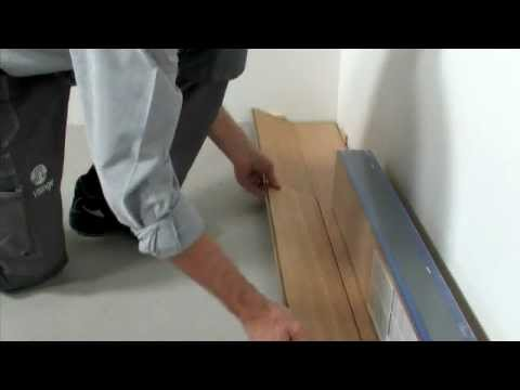 Laminate Flooring: Installation for Angle/Angle Method (7mm)