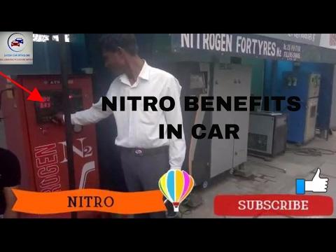 Benefits of Filling nitrogen in tyres