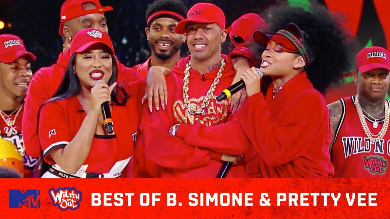 Best of B. Simone & Pretty Vee 👯😂 Wild 'N Out