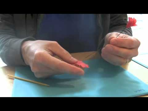 How to Make Gum Paste Carnations on Floral Wire