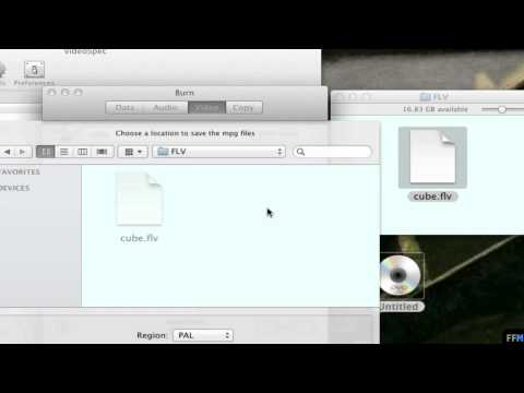 Convert .FLV to Video DVD Free on Mac