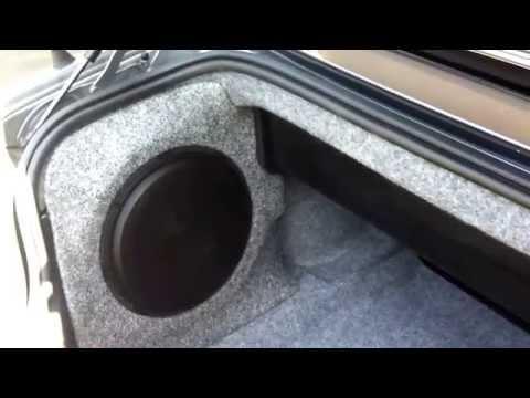 2003 M3 BMW convertable  custom side panel box