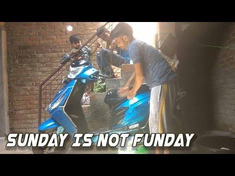 Dheerandra's Vlogs #01 - My Village Life - Sunday Too Busy