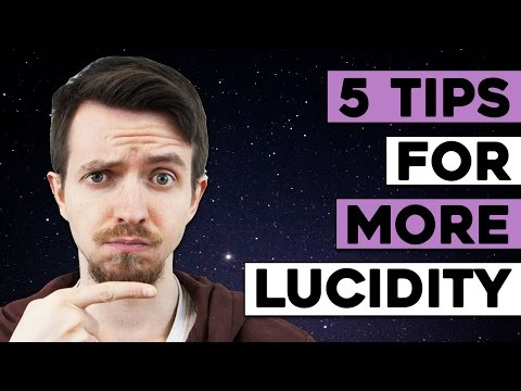 5 Lucid Dreaming Tips to Increase Lucidity