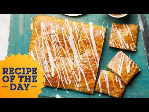 Recipe of the Day: Ginormous Toaster Pastry | Food Network