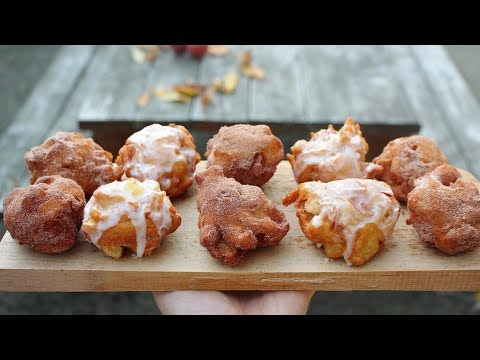 Quick Apple fritters