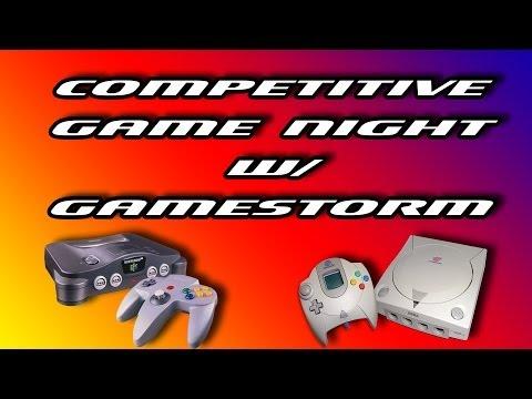 Competitive Game Night w/ da GameStorm Crew!