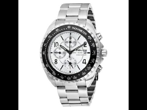 New Battery into a Police Chronograph Watch