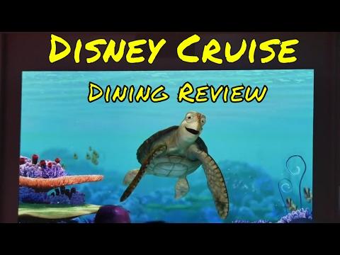 Disney Fantasy Cruise Tips - Dining and Restaurants