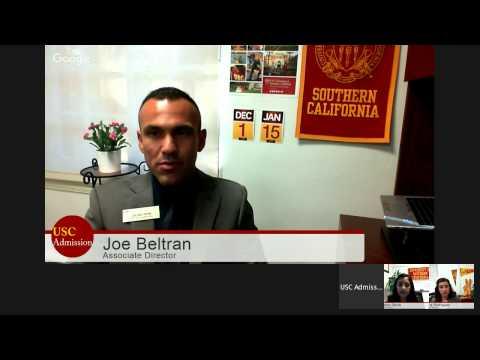 USC Admission Hangout