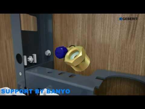 Geberit Monolith Plus WC Installation