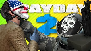 GETTING CHOKESLAMMED FOR MONEY | Payday 2