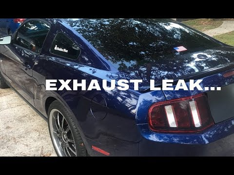 EXHAUST LEAK/LOOSE EXHAUST SOUND (AND FIX)
