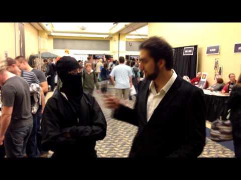 Hal-Con 2013 Interviews: The Stealthiest Ninja