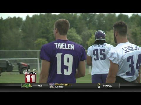 Vikings Training Camp: Catching Up With Adam Thielen