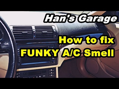 BMW DIY Video - How to get rid of funky A/C smell