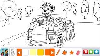 Dibujos Para Colorear Marshall Patrulla Canina Imagesacolorierwebsite