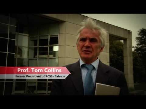 Tom Collins Interview at UCD Dublin