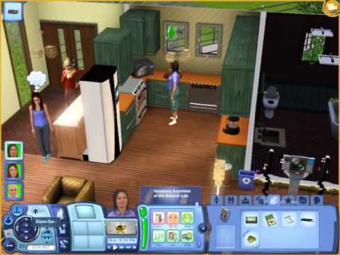 Sims 3: Baked Angel Food Cake