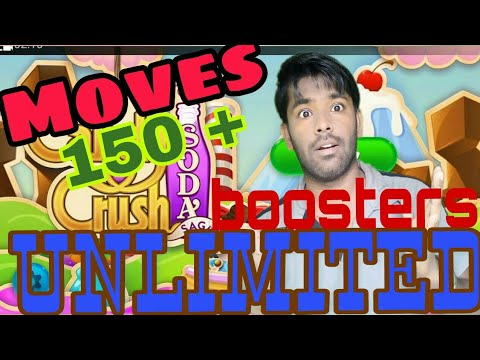 How to get unlimited boosters | lives | moves in candy crush soda