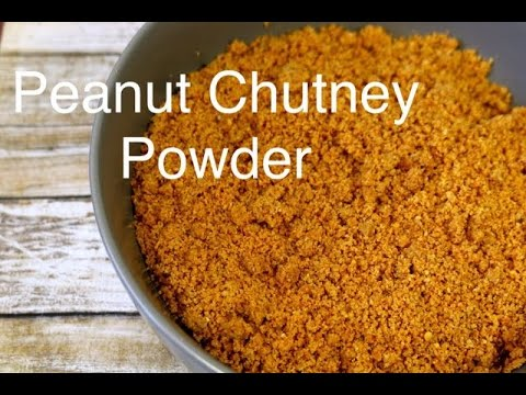 Peanut Chutney Powder (Shenga Chutney Pudi/ Peanut Podi)