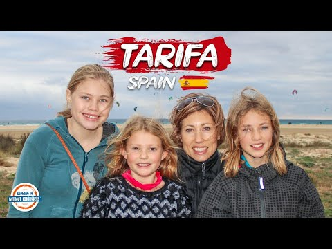 Tarifa Spain | One of the Best Beaches for Kitesurfing in the World |  80+ Countries w/3 kids