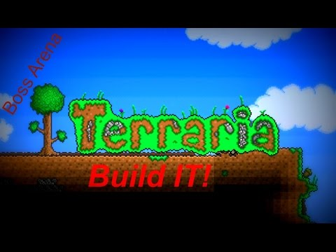 Terraria: How to make a Boss arena