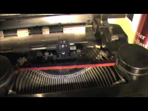Repairing and Cleaning the 1937 Smith and Corona Typewriter