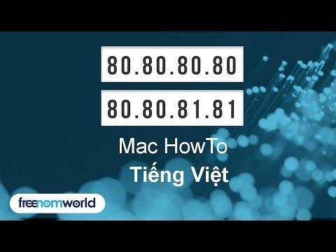 Freenom World Mac HowTo (Tiếng Việt)