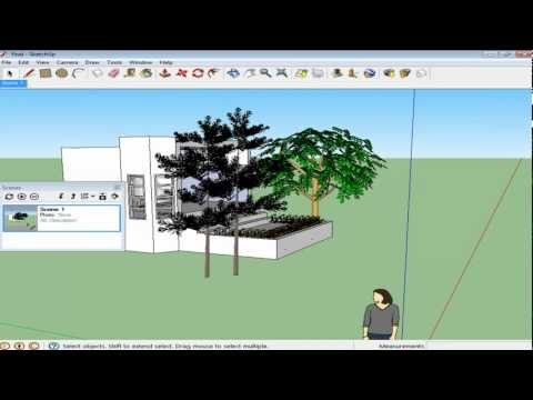 How to Create Scenes and Do Basic Animation in Google SketchUp