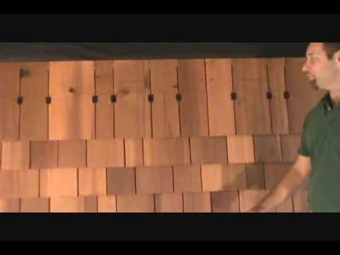 How to Install Cedar Shingles