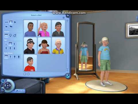 How to create a premade sim    Sims 3 (pets)