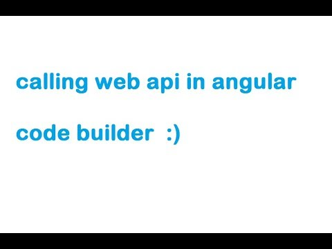 Call Web Api in Angular | Asp.net | Web API |  in hindi