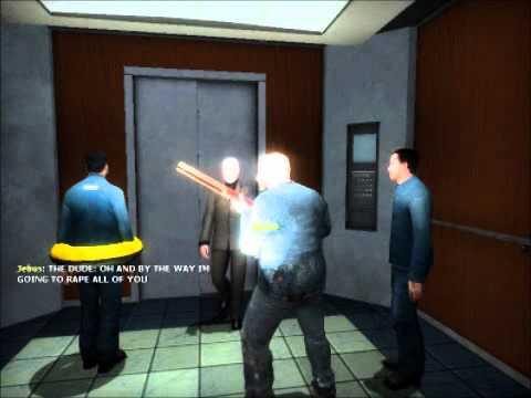 Garrys Mod: The Elevator w/ Jebus & Gamma - Part 3