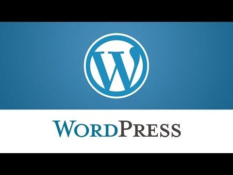 WordPress. How To Change Logo Wrapper Size