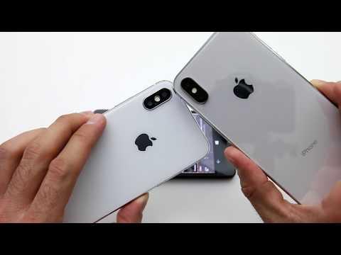 $80 FAKE iPhone X vs. $1000 Real Apple iPhone X (BEWARE)